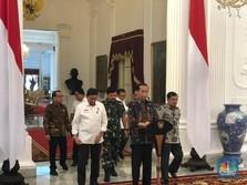 Dituding Rezim Korup oleh Tim Prabowo, Jokowi: 'Gak Baik Itu