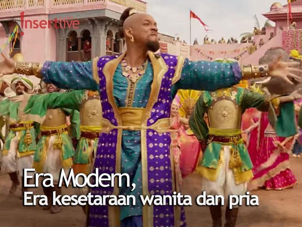 Arti Diversitas dan Feminisme Bagi Para Pemain Aladdin