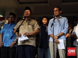 Prabowo-Sandi Resmi Gugat Hasil Pilpres 2019 ke MK