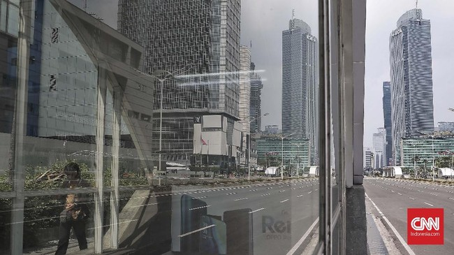 Meskipun demikian, manajemen MRT Jakarta mengaku memperketat pengamanan di sejumlah stasiun.CNN Indonesia/Andry Novelino