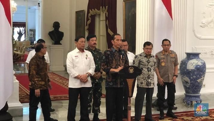 Siapa Dalang di Balik Kericuhan Demo 22 Mei? Ini Kata Jokowi