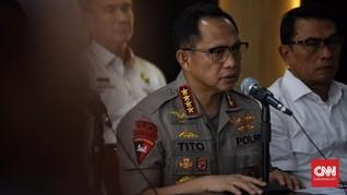 Polisi Sebut Perusuh Hendak Bunuh Wiranto, Luhut, BG, Gories