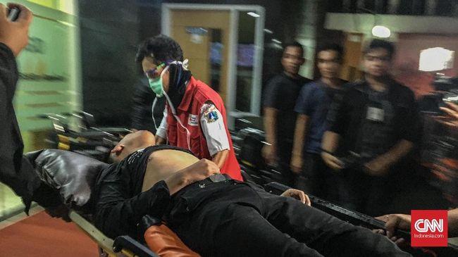 Kena Gas Air Mata, Peserta Aksi Dibawa ke RSUD Tarakan