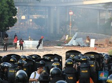 Demo 22 Mei Berkepanjangan, Istana Akhirnya Terjunkan TNI