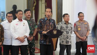 Jokowi Akui Berinisiatif Temui Prabowo, tapi Belum Berbalas