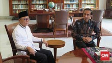 Usai Bertemu Jokowi, Zulkifli Hasan Klaim Tak Bahas Koalisi
