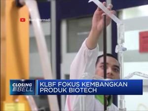 KLBF Fokus Kembangkan Produk Biotech