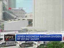 Semen Indonesia Bagikan Dividen Rp 207,64 /Saham