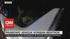 VIDEO: Prabowo Jenguk Korban Bentrok di Aksi 22 Mei
