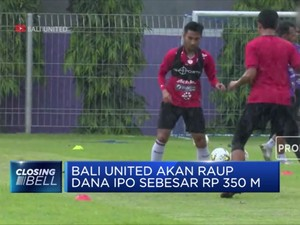 Bali United Tetapkan Harga IPO Rp 175