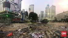 Mulai Kondusif, Jalan Thamrin Dibuka Sebagian