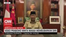 VIDEO: Prabowo Minta Massa Membubarkan Diri