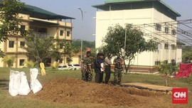 Ponpes Az-Zikra Sibuk Persiapkan Pemakaman Arifin Ilham