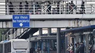 Usai Aksi 22 Mei, Seluruh Koridor TransJakarta Kembali Normal