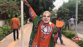 VIDEO: Partai Menang Pemilu, Modi Bakal Jadi PM Dua Periode