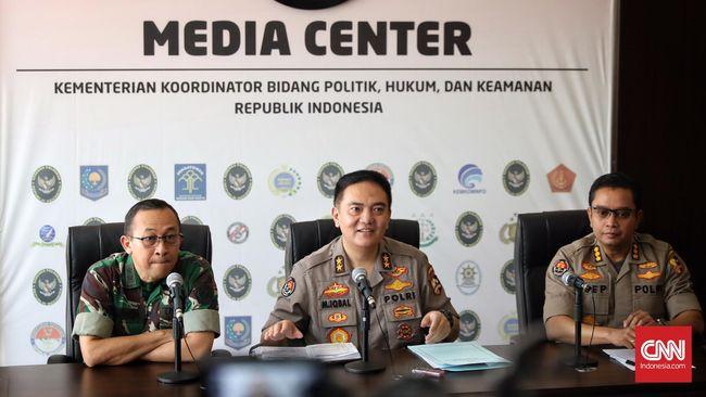 Polri Ungkap Massa Perusuh 22 Mei Dimobilisasi Serang Petugas
