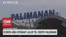 VIDEO: Kondisi Area Istirahat Jalur Tol Cikopo-Palimanan