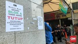 Usai Kerusuhan, Pasar Tanah Abang Ditutup hingga 25 Mei