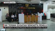 VIDEO: MK Terima Gugatan Sengketa Pemilu