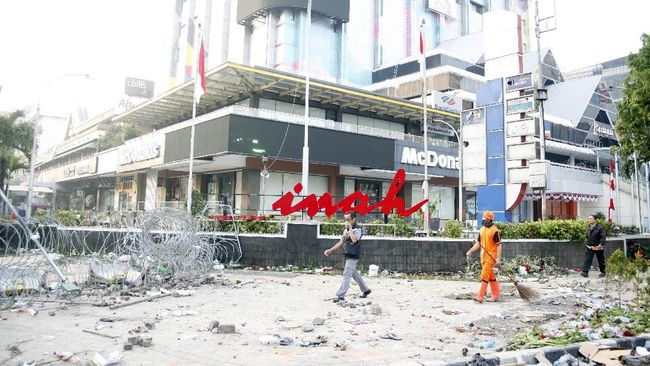 Pengelola Pusat Perbelanjaan Hitung Kerugian usai Aksi 22 Mei