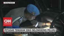 VIDEO: Gelar Razia, Petugas Temukan 20kg Selongsong Peluru