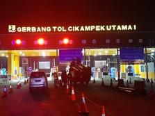 Catat! Transaksi di GT Cikarang Utama Tol Japek Sudah Digeser