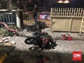 Motor Wartawan Dibakar Massa Aksi 22 Mei