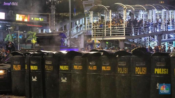 Mabes Polri menyatakan ada 9 korban tewas dalam rusuh 21-22 Mei, bertambah 1 orang dari pernyataan resmi sebelumnya.