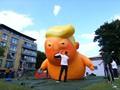 VIDEO: Warga Inggris Sambut Trump dengan Balon Bayi Berpopok
