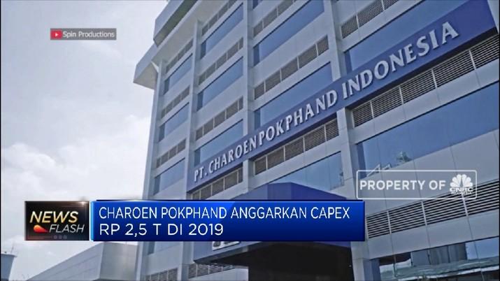 Hal ini berdampak positif bagi pergerakan emiten industri pakan ternak ayam yakni PT Charoend Pokphand Indonesia Tbk (CPIN).