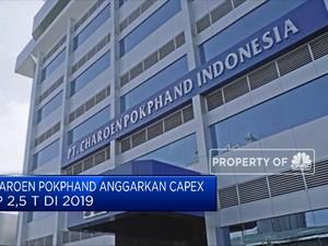Charoen Pokphand Anggarkan Capex Rp 2,5 T