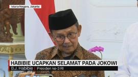 VIDEO: Habibie Ucapkan Selamat Pada Jokowi