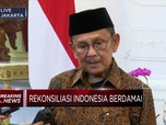 B.J. Habibie Menemui Jokowi di Istana