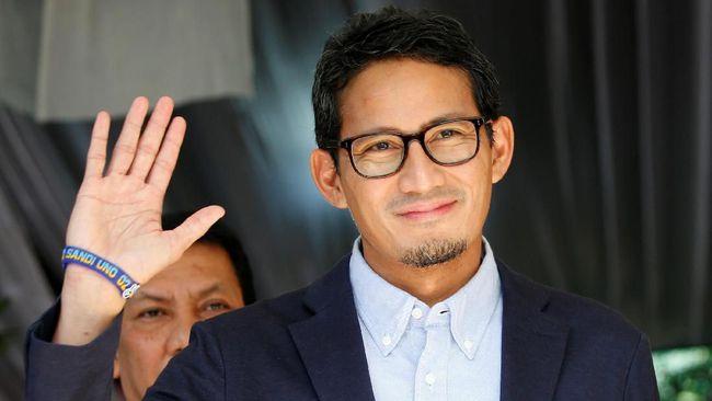 Sandiaga Tak Tutup Kans Gabung Pemerintahan Jokowi