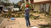 Setidaknya tujuh orang tewas akibat cuaca buruk yang menerjang Missouri, Amerika Serikat, selama sepekan belakangan. (Reuters/Antranik Tavitian)