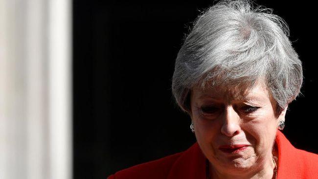 Theresa May Hari Ini Resmi Mengundurkan Diri