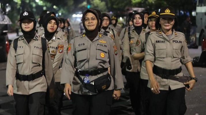 Polda Metro Jaya mengaku siap jika Jakarta diputuskan karantina wilayah