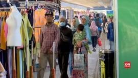 VIDEO: Pedagang Pasar Tanah Abang Kembali Bejualan