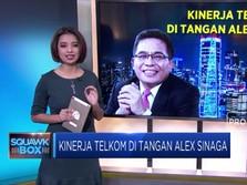Kinerja Telkom di Tangan Alex Sinaga