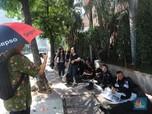Kondisi Terkini di Thamrin-Sabang Jelang Gugatan Prabowo