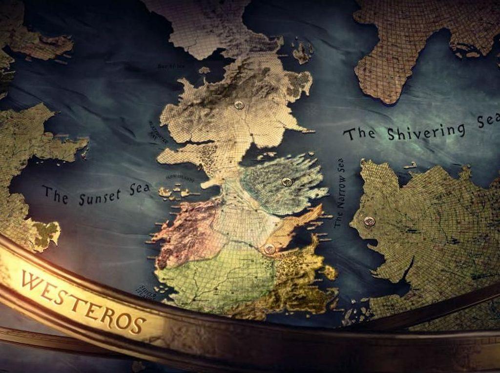 Westeros. George R.R. Martin mungkin jadi pencipta dunia fantasi terpopuler saat ini. Westeros yang merupakan representasi dunia barat di serial Game of Thrones (GoT)ini sepertinya membuat orang-orang rasanya ingin menyelaminya, terutama mengingat musim terakhir GoT sudah berakhir. Foto: via Brainberries