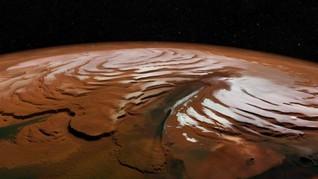 Ilmuwan Temukan Awan Tipis Mars Berasal dari Tubrukan Meteor