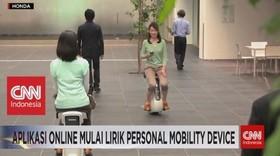 VIDEO: Aplikasi Online Mulai Lirik Personal Mobility Device