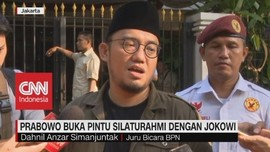 VIDEO: Prabowo Buka Pintu Silahturahmi Dengan Jokowi