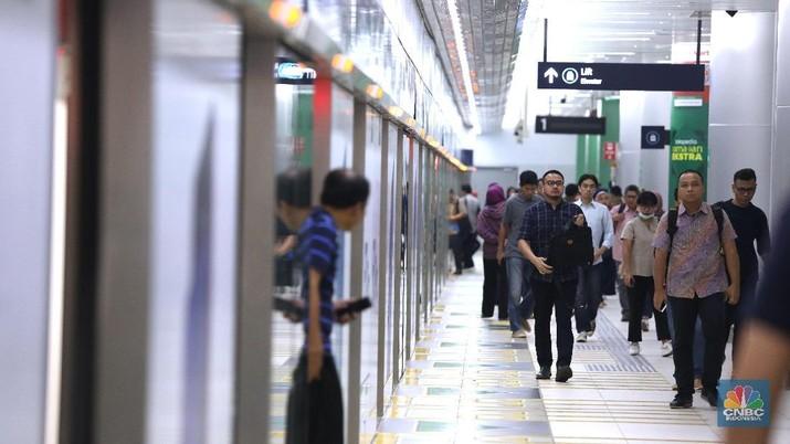 Hari Ini, MRT Jakarta Kembali Beroperasi Penuh di 13 Stasiun