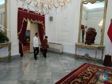 Bertemu Jokowi, Habibie Ucapkan Selamat Atas Pilpres 2019