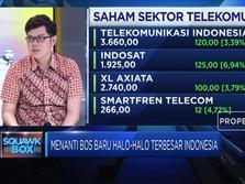 Peluang Telkom di Bursa Saham Indonesia