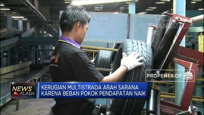Q1-2019 Penjualan Multistrada Arah Sarana Naik 10.66% (CNBC Indonesia TV)