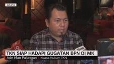VIDEO: TKN Siap Hadapi Gugatan BPN di MK