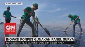 VIDEO: Pesantren Wali Barokah Kediri Bangun PLTS